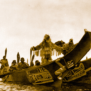 In the Land of the Head Hunters (1914) d'Edward S. Curtis